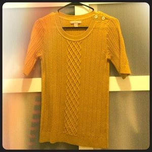 Short sleeve Banana Republic sweater