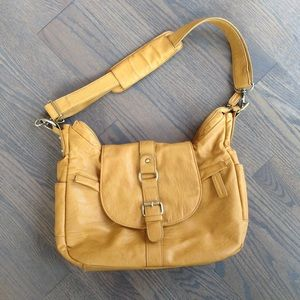 Kelly Moore Handbags - Kelly Moore camera bag. Hobo style. Mustard