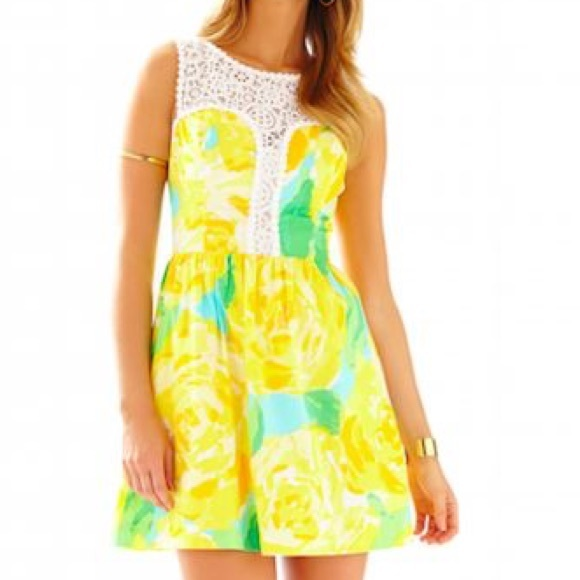 Sunglow Yellow First Impressions Reagan Dress 56e54a816