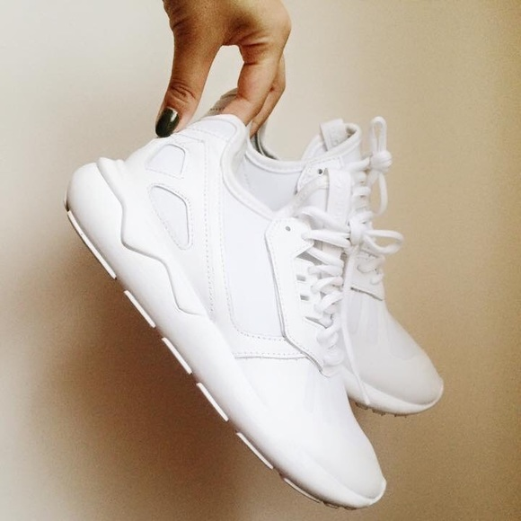 adidas all white shoes