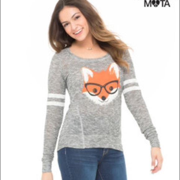 2676715e37f Bethany Mota Sweaters - Bethany Mota Fox Sweater