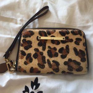 Handbags - Cheetah Wallet with Wristband