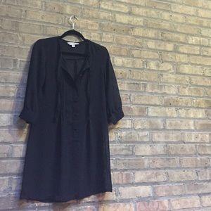 Brooklyn 🌆 Industries black sheer dress