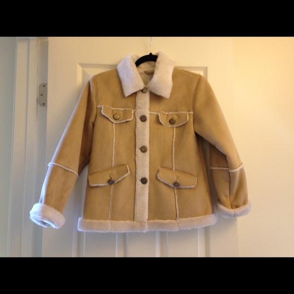 Talbots kids - Talbots Kids gorgeous faux suede/shearling coat ...