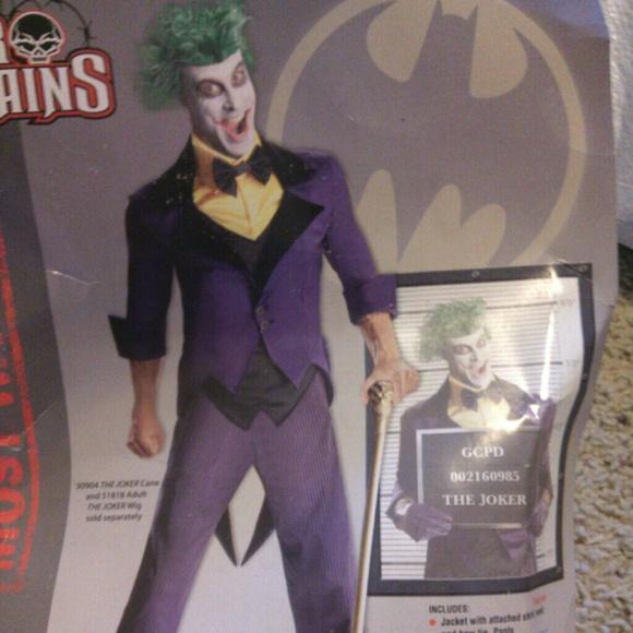 Hot Topic Other Mens Xl Joker Halloween Costume Poshmark