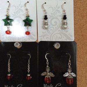 Holiday Earrings! $5/ea