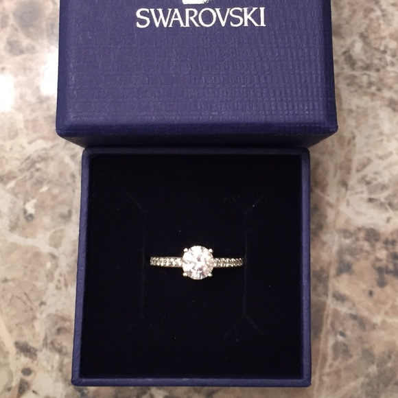 Swarovski Jewelry Attract Round Ring Poshmark