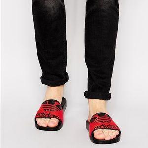 dbbf79b05 Adidas Shoes - Adidas originals Adilette trefoil logo sandals