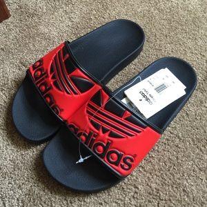 de348abf3f94c1 Adidas Shoes - Adidas originals Adilette trefoil logo sandals