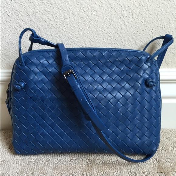 6c62126b95 Bottega Veneta Handbags - Authentic Bottega Veneta   Sm Woven Crossbody Bag