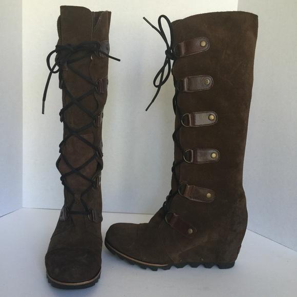 e199c524e81a Sorel Joan of Arctic wedge knee high boots. M 561ed4186d64bca801038768
