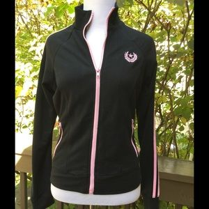Self Esteem Jackets & Blazers - Black with Pink Accents Zip Jacket !! 😎