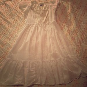 Sonoma Dresses & Skirts - Beautiful classic white peasant dress