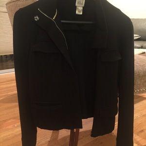 Black City DKNY ponte cotton jacket