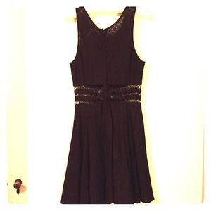 Cotton eyelet lace Free People dress.