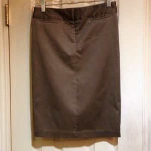 Taupe Laundry Size 0 Skirt
