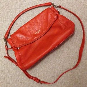 Harvest orange kate spade bag