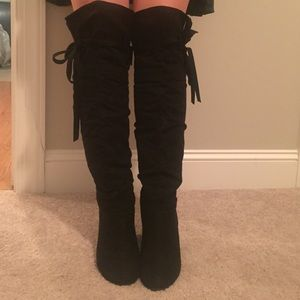 62% off Not Rated Shoes - Over the knee boots from Peyton's closet ...