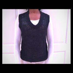 Inhabit linen knit sweater vest