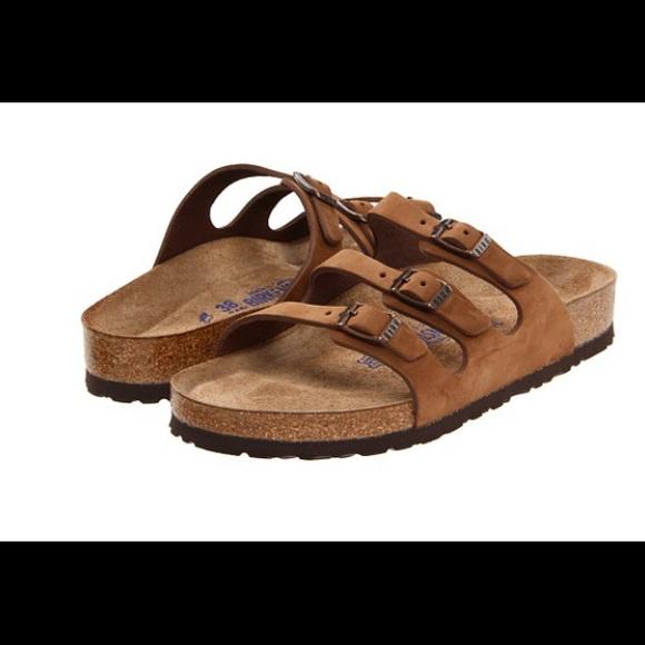 3f329097d39 Birkenstock Shoes - Birkenstock Florida Cocoa Nubuck Sandals