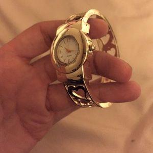 Jewelry - GOLD bangle watch