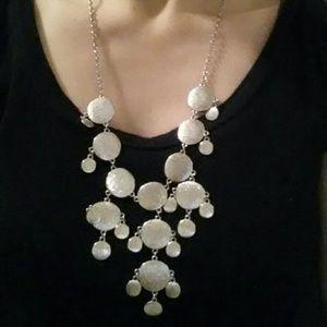 Jewelry - Metal Molecule Bubble Necklace