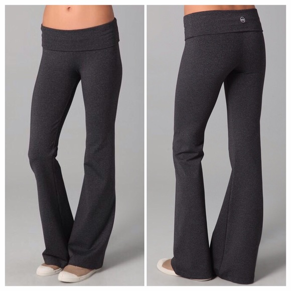 45% off Solow Pants - Solow Foldover Yoga Pants from Zoe's closet ...