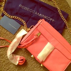 Rebecca Minkoff Handbags - NWT Rebecca Minkoff Mini MAC Crossbody WATERMELON