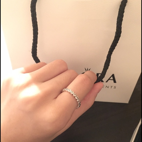 cd662502e Pandora Jewelry | Brand New Alluring Petite Ring Size 50 | Poshmark