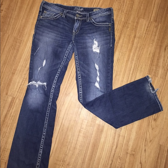 71% off Silver Jeans Denim - Silver Jeans Berkley Surplus Fit from