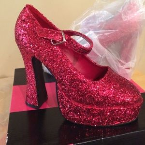 Ellie Shoes - Ruby slippers for Halloween!