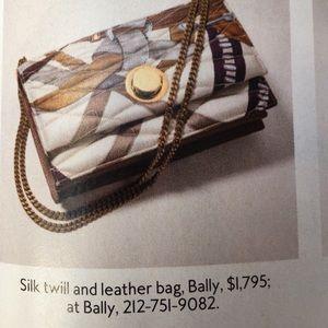 Bally Handbags - 🎉🎉HP🎉Authentic black leather Bally shoulder bag