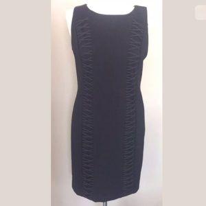 Cynthia Steffe Dresses & Skirts - Cynthia Steffe Sleeveless Lace Accent Sheath Dress