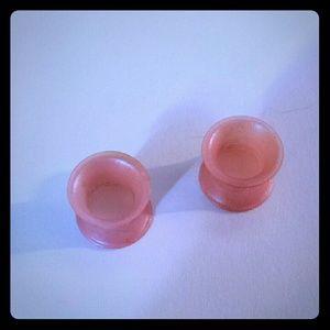 Kaos Jewelry - Kaos Softwear Silicone Pearl Pink Tunnels