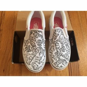 db7bd3f6b1 Vans Shoes - Brand New! Color Me Butterfly Vans