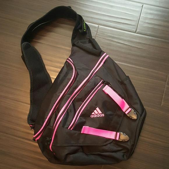 2dc2678e8dfd Adidas Handbags - Adidas over the shoulder backpack