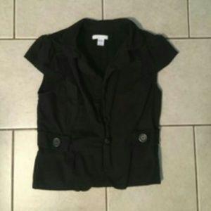 Charlotte russe sleeveless blazer