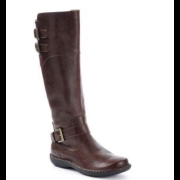 00f0bf53699 B.O.C. Walsh Casual brown riding boot wide calf