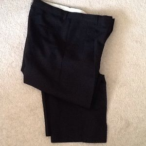 Pants - Boys Husky Black Dress Pants