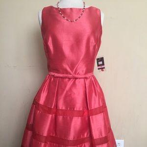 Beautiful TAYLOR Coral Dress