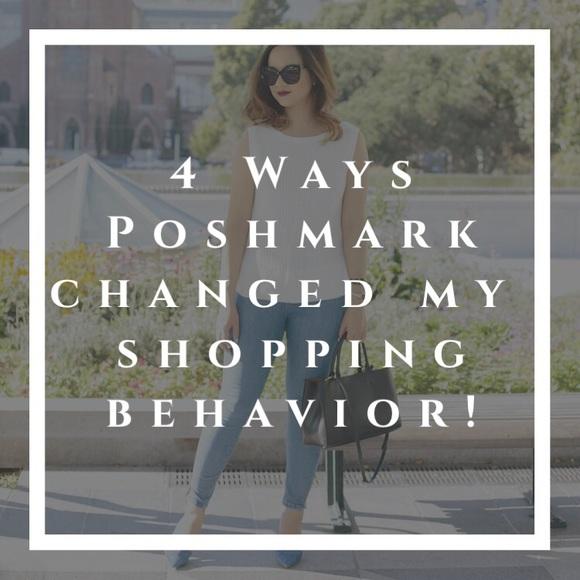 How Poshmark changed my shopping behavior!