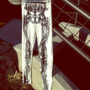 Pants - Skeleton leggings💀