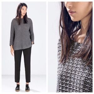 Zara Sweaters - Zara gray sweater