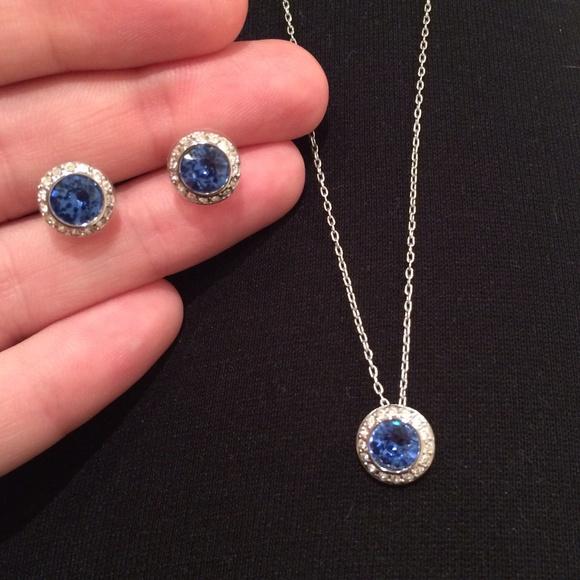 Swarovski Jewelry | Flash Sale Necklace Earrings Set ...