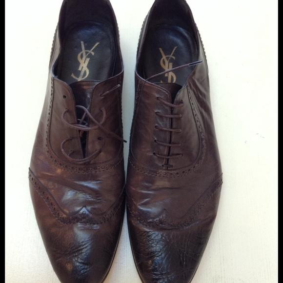 Yves Saint Laurent Point Toe Mens Shoe