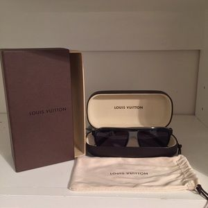 Unisex Authentic Louis Vuitton Sunglasses