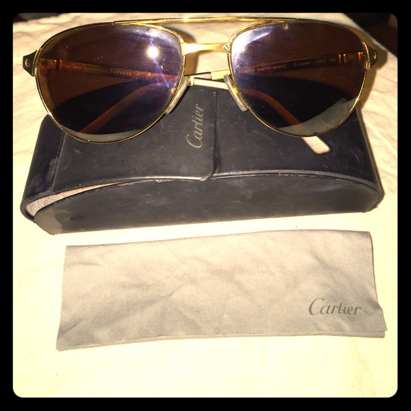 89690432633 Cartier Accessories - Cartier luxury aviator sunglasses