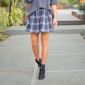 American Apparel Skirts - *New* American Apparel plaid circle skirt