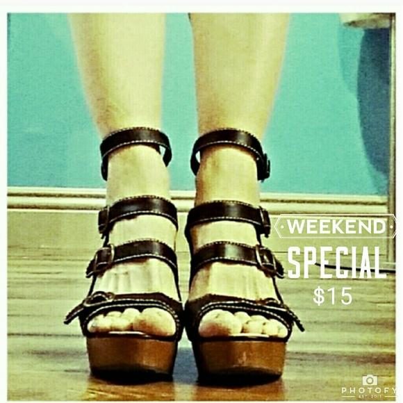 d991273fd88 Lola Ramona black Jenny Wedge sandals price firm