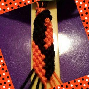 Halloween hemp bracelet